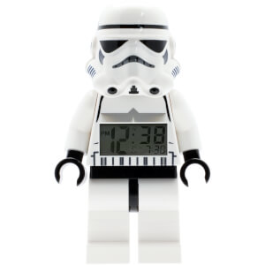 LEGO Star Wars: Storm Trooper Mini-Figure Clock
