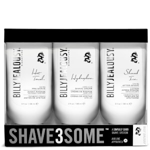 Trío cremas de afeitar Billy Jealousy Men's SHAVE3SOME