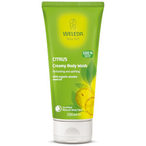 Gel corporal Citrus Creamy Body Wash de Weleda (200 ml)