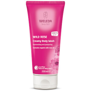 Gel corporal Wild Rose Creamy Body Wash de Weleda (200 ml)