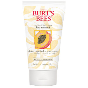 Burt's Bees Peach & Willowbark Deep Pore Scrub (4 oz / 110g)