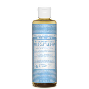 Dr Bronner's Pure Castile Liquid Soap Baby Unscented 237ml