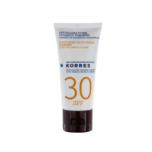 Korres Yoghurt Face Sunscreen Cream SPF30 (50ml)