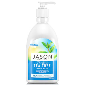 Жидкое мыло для рук с маслом чайного дерева JASON Purifying Tea Tree Hand Soap 473 мл