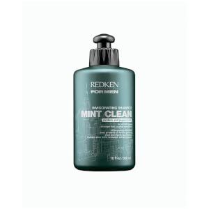 REDKEN FOR MEN MINT CLEAN INVIGORATING SHAMPOO (Belebend mit Minze)  300ml