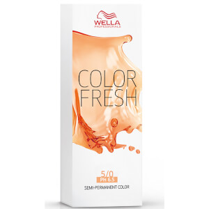 Color Fresh de Wella,  castaño claro 5/07 (75 ml)