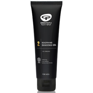 Gel de Barbear Calmante Biológico 2 da Green People 100 ml