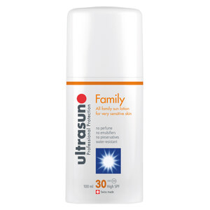 Loción solar familiar SPF 30 de Ultrasun (100 ml)