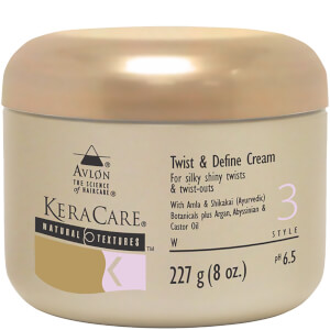 КРЕМ ДЛЯ СОЗДАНИЯ ЗАВИТКОВ KERACARE NATURAL TEXTURES TWIST & DEFINE CREAM (227 Г)