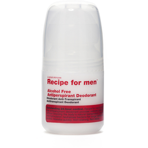 Recipe for Men - Alcohol Free Antiperspirant Roll On Deodorant 60 ml