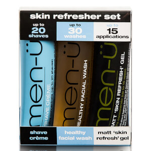 men-ü skin refresher set 3 x 15ml