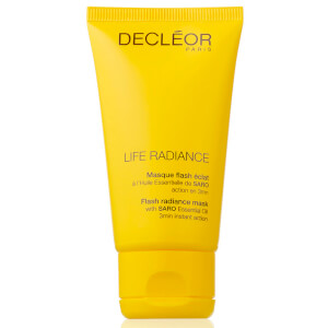 Mascarilla iluminadora DECLÉOR Life Radiance Flash (50ml)
