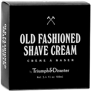 Tarro de crema de afeitar Old Fashioned de Triumph & Disaster 100 ml
