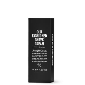 Triumph & Disaster Old Fashioned Shave Cream Tube -karvanpoistovaahtopurkki 90ml