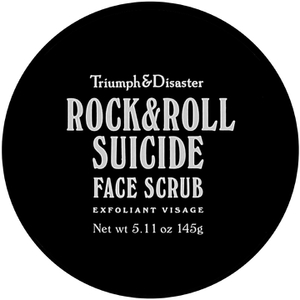 Exfoliante facial Rock & Roll Suicide de Triumph & Disaster 145 g