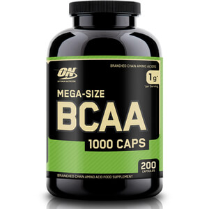 Optimum Nutrition BCAA 1000 - Unflavoured, Bottle, 200 capsules
