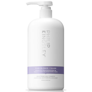 Philip Kingsley Pure Blonde/Silver Brightening Daily Shampoo 1000ml (Worth $128)