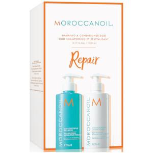 Moroccanoil Moisture Repair Shampoo & Conditioner Duo (2x500ml)
