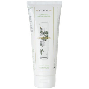 Acondicionador aloe vera KORRES Aloe and Dittany - cabello normal (200ml)