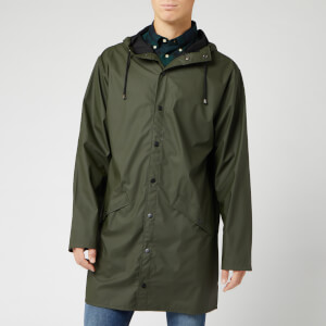 RAINS Men's Long Jacket - Green
