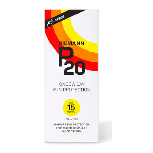 Riemann P20 Once a Day Sun Protection Spray SPF15 200ml