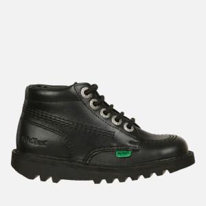 Kickers Kids' Kick Hi Boots - Black: Image 1