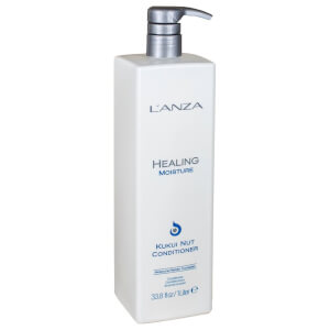 LAnza Healing Moisture Kukui Nut Conditioner (1000 ml) - (Værdi: £99,00)