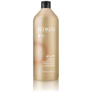 Redken All Soft Shampoing Cheveux Secs (1000ml)