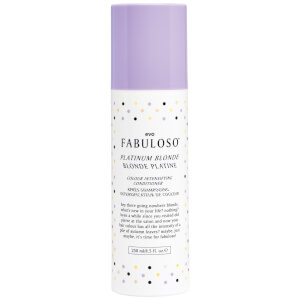 Acondicionador de color rubio plantino para intensificar el color de Evo Fabuloso (250 ml)