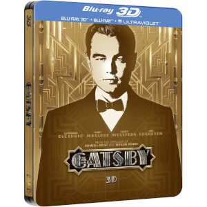 The Great Gatsby 3D - Limited Edition Steelbook (Includes UltraViolet Copy) (UK EDITION)