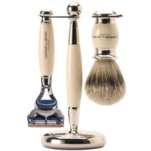 Kit de afeitado de 3 piezas Carter and Bond Classic Fusion