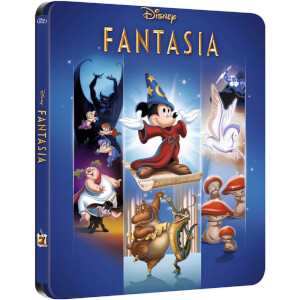 Fantasia - Zavvi UK Exclusive Limited Edition Steelbook (The Disney Collection #6)