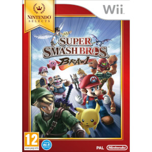 Wii Nintendo Selects Super Smash Bros Brawl