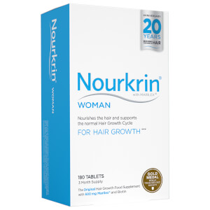 Nourkrin Woman - 3 Month Supply (180 Tablets, Worth $229)