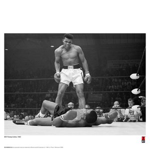 Muhammad Ali 'First Minute First Round' Print - 14 x 11