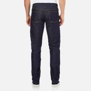 A.P.C. Men's Petit Standard Mid Rise Jeans - Selvedge Indigo: Image 3