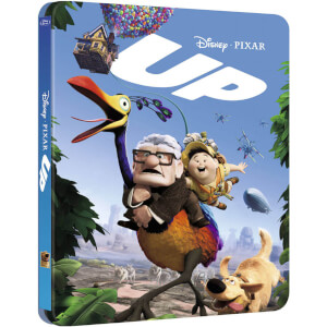 Up 3D - Zavvi Exclusive Limited Edition Steelbook (Includes 2D Version) (The Pixar Collection #7)