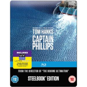 Captain Phillips: Mastered in 4K Edition - Steelbook Edition (+UV)