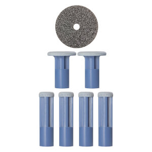 PMD Mixed Blue Replacement Discs – 6 st