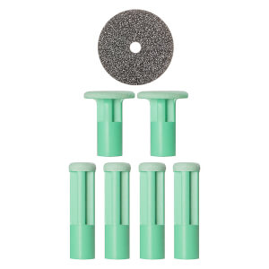 PMD Mixed Green Replacement discs - pakke med 6