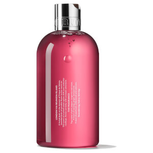 Molton Brown Fiery Pink Bath and Shower Gel 300ml: Image 2