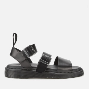 Dr. Martens Gryphon Strap Leather Sandals - Black