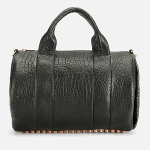 Alexander Wang Women's Rocco Pebble Leather Bag - Black with Rose Gold Hardware
