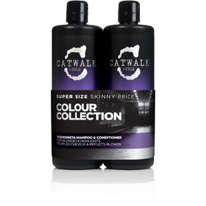 TIGI Catwalk Fashionista Blonde Tween Duo 2 x 750 ml (værd £55,90)