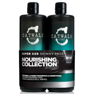 Duo de productos nutritivos TIGI Catwalk Oatmeal and Honey