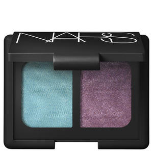 NARS Cosmetics China Seas Duo Eyeshadow - Iridescent Turquoise with Gold Infusion/Iridescent Plum