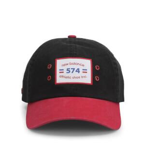 Casquette Unisexe New Balance 574-Noir/Rouge
