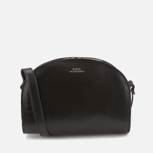 A.P.C. Women's Demi-Lune Cross Body Bag - Black
