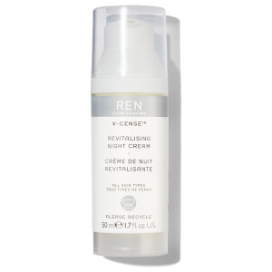 REN Clean Skincare V-Cense Revitalising Night Cream 50ml