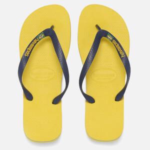 Havaianas Herren Brazil Logo Flip Flops - Citrus Gelb